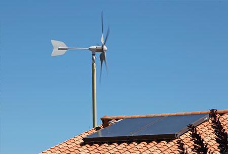 Éolienne domestique pour particuliers