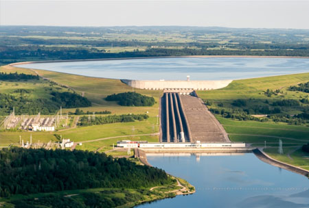 Stockage hydraulique & production d'électricité